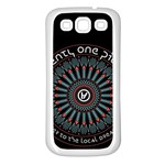Twenty One Pilots Samsung Galaxy S3 Back Case (White) Front
