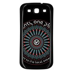 Twenty One Pilots Samsung Galaxy S3 Back Case (Black) Front