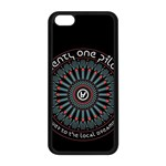 Twenty One Pilots Apple iPhone 5C Seamless Case (Black) Front
