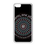 Twenty One Pilots Apple iPhone 5C Seamless Case (White) Front