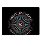 Twenty One Pilots Double Sided Fleece Blanket (Small)  50 x40 Blanket Back