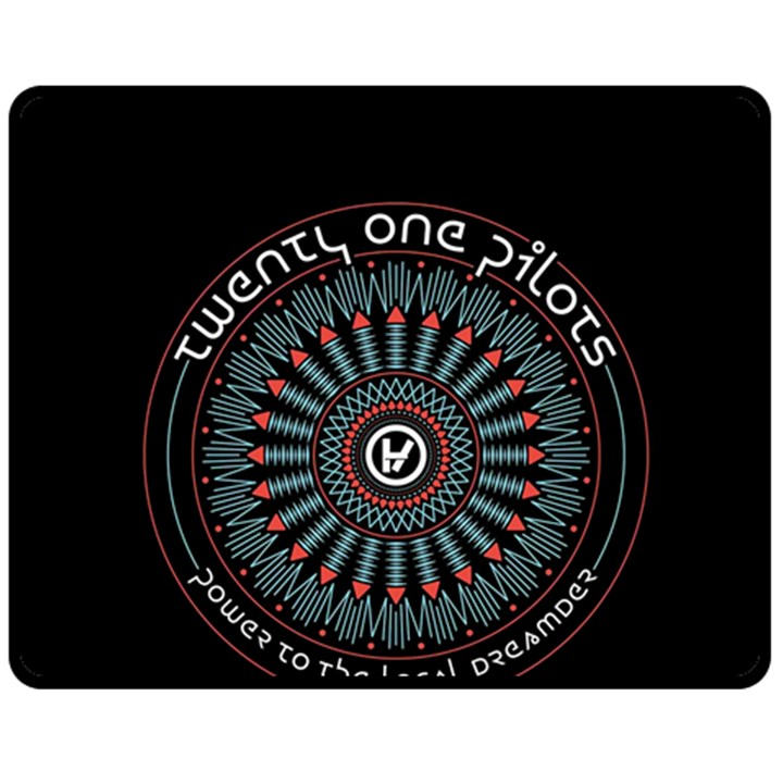 Twenty One Pilots Double Sided Fleece Blanket (Medium)
