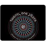 Twenty One Pilots Double Sided Fleece Blanket (Medium)  60 x50 Blanket Back