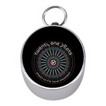 Twenty One Pilots Mini Silver Compasses Front