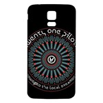 Twenty One Pilots Samsung Galaxy S5 Back Case (White) Front