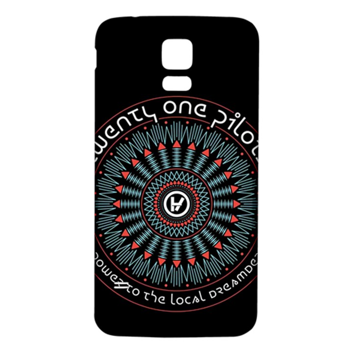 Twenty One Pilots Samsung Galaxy S5 Back Case (White)