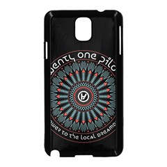 Twenty One Pilots Samsung Galaxy Note 3 Neo Hardshell Case (Black)