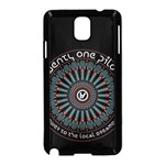Twenty One Pilots Samsung Galaxy Note 3 Neo Hardshell Case (Black) Front