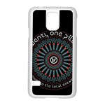 Twenty One Pilots Samsung Galaxy S5 Case (White) Front