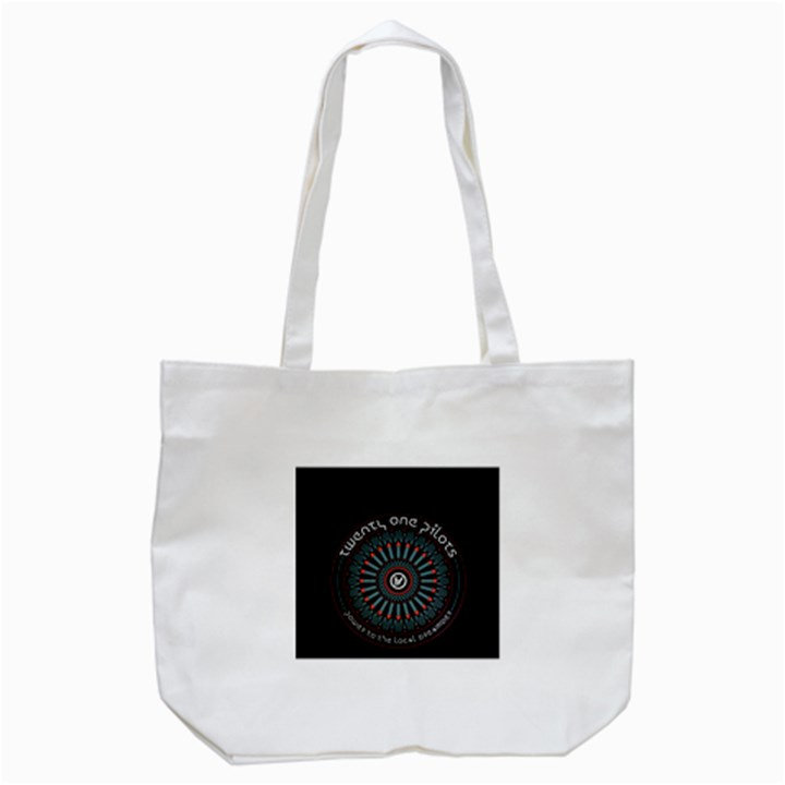 Twenty One Pilots Tote Bag (White)