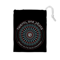 Twenty One Pilots Drawstring Pouches (Large)