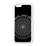Twenty One Pilots Apple iPhone 6/6S White Enamel Case Front