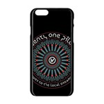 Twenty One Pilots Apple iPhone 6/6S Black Enamel Case Front