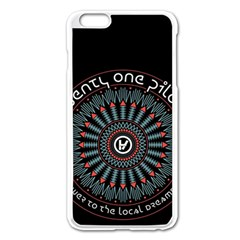 Twenty One Pilots Apple iPhone 6 Plus/6S Plus Enamel White Case