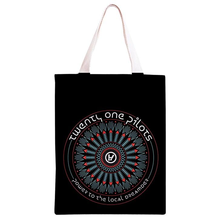 Twenty One Pilots Classic Light Tote Bag