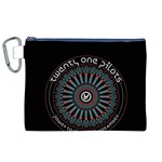 Twenty One Pilots Canvas Cosmetic Bag (XL) Front