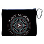 Twenty One Pilots Canvas Cosmetic Bag (XXL) Back