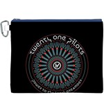 Twenty One Pilots Canvas Cosmetic Bag (XXXL) Front