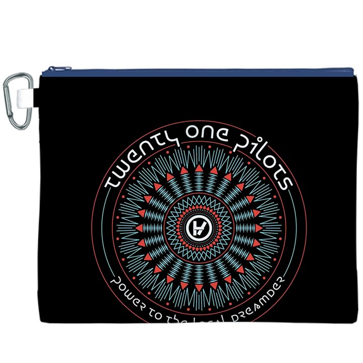 Twenty One Pilots Canvas Cosmetic Bag (XXXL)