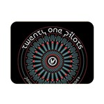 Twenty One Pilots Double Sided Flano Blanket (Mini)  35 x27 Blanket Back