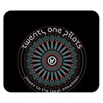 Twenty One Pilots Double Sided Flano Blanket (Small)  50 x40 Blanket Back