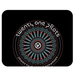 Twenty One Pilots Double Sided Flano Blanket (Medium)  60 x50 Blanket Back