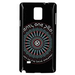 Twenty One Pilots Samsung Galaxy Note 4 Case (Black) Front