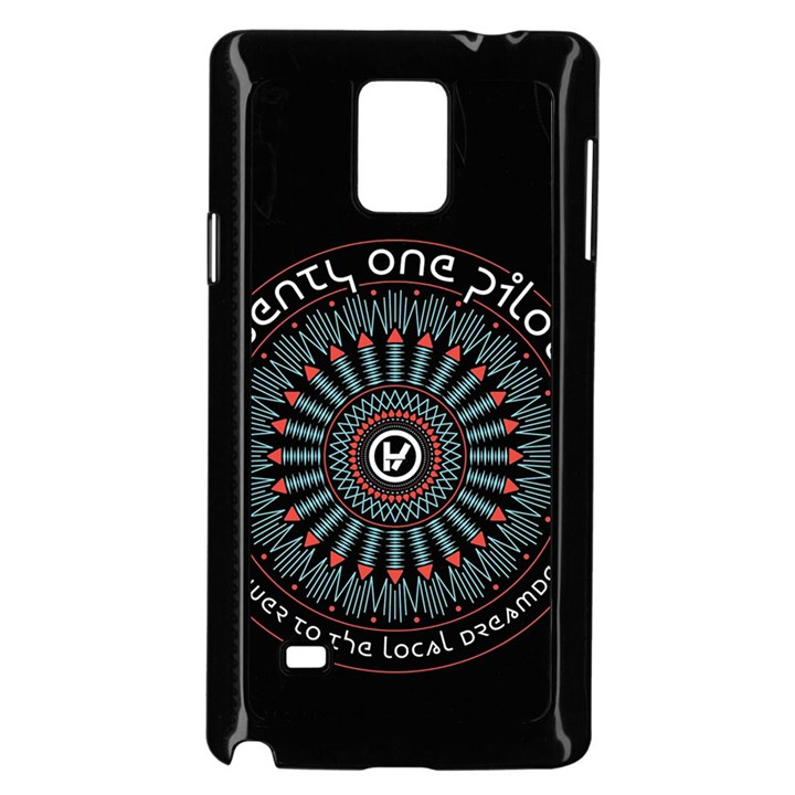 Twenty One Pilots Samsung Galaxy Note 4 Case (Black)