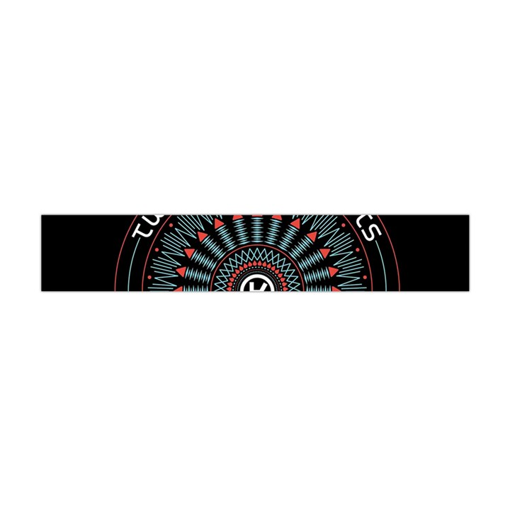 Twenty One Pilots Flano Scarf (Mini)
