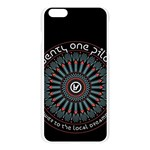 Twenty One Pilots Apple Seamless iPhone 6 Plus/6S Plus Case (Transparent) Front