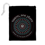 Twenty One Pilots Drawstring Pouches (Extra Large) Back