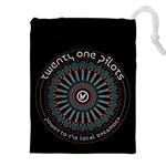 Twenty One Pilots Drawstring Pouches (XXL) Front