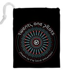 Twenty One Pilots Drawstring Pouches (XXL) Back