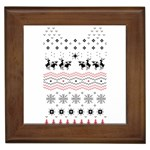 Ugly Christmas Humping Framed Tiles Front