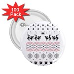 Ugly Christmas Humping 2.25  Buttons (100 pack)  Front