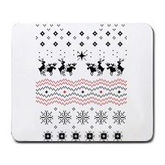 Ugly Christmas Humping Large Mousepads