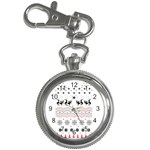 Ugly Christmas Humping Key Chain Watches Front