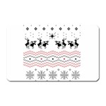 Ugly Christmas Humping Magnet (Rectangular) Front
