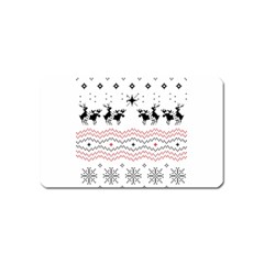 Ugly Christmas Humping Magnet (name Card)