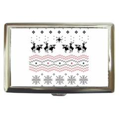 Ugly Christmas Humping Cigarette Money Cases