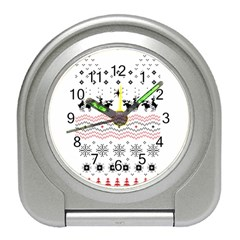 Ugly Christmas Humping Travel Alarm Clocks