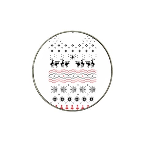 Ugly Christmas Humping Hat Clip Ball Marker (10 pack)