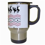 Ugly Christmas Humping Travel Mugs (White) Right