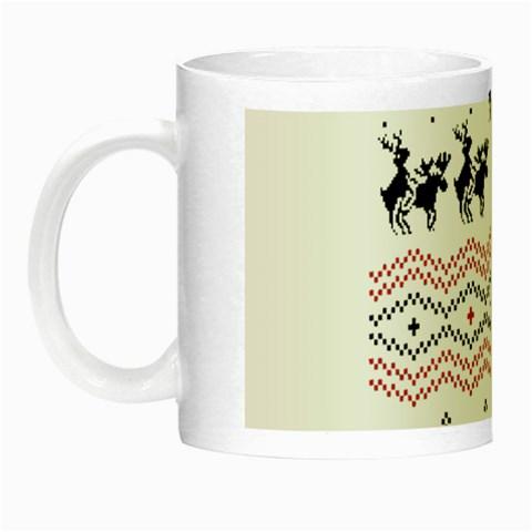 Ugly Christmas Humping Night Luminous Mugs