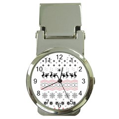 Ugly Christmas Humping Money Clip Watches