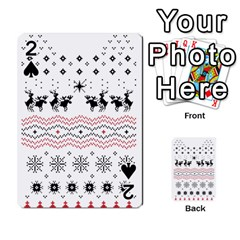 Ugly Christmas Humping Playing Cards 54 Designs