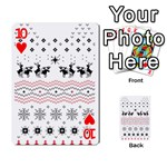 Ugly Christmas Humping Playing Cards 54 Designs  Front - Heart10