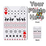 Ugly Christmas Humping Playing Cards 54 Designs  Front - HeartQ