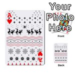 Ugly Christmas Humping Playing Cards 54 Designs  Front - HeartA