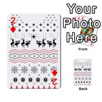 Ugly Christmas Humping Playing Cards 54 Designs  Front - Diamond2